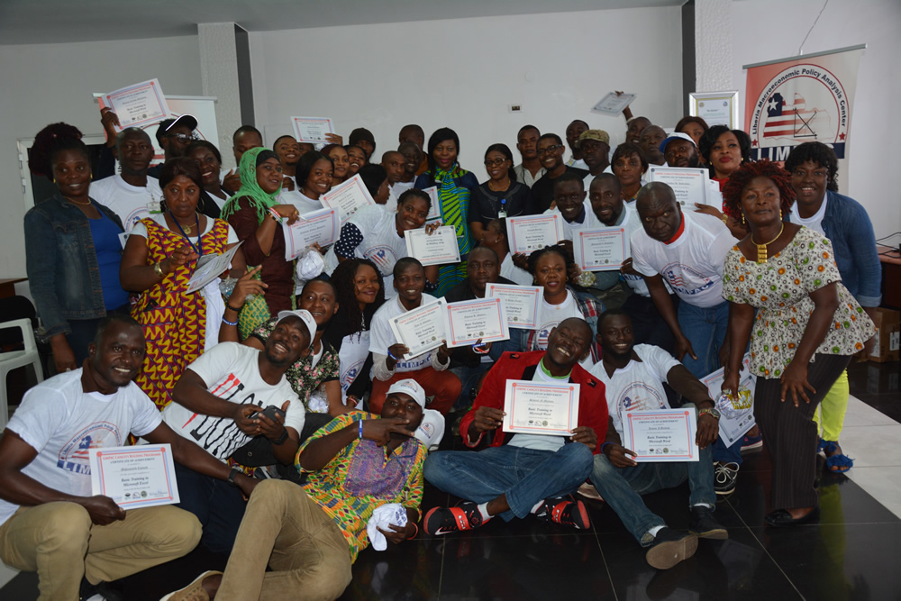 Graduates from the LIMPAC Phase I Training.jpg